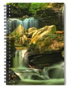 Cascading Everywhere Spiral Notebook