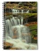 Cascading Everywhere At Ricketts Glen Spiral Notebook