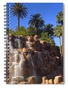 Cascading Rocky Waterfall Spiral Notebook