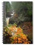 Cascading Steps Spiral Notebook