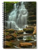Cascading Through Ricketts Glen Spiral Notebook