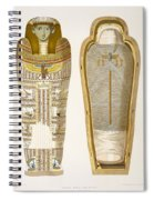 Case And Mummy In Its Cerements Spiral Notebook