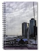 Case Of The Missing P Aka As Pier 17 Spiral Notebook