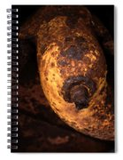 Case Tractor Abstract Spiral Notebook
