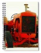Case Tractor Spiral Notebook