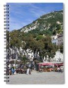 Casemates Square In Gibraltar Spiral Notebook