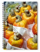 Cashew Fruit - Mercade Municipal Spiral Notebook
