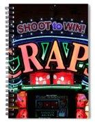 Casino Time Spiral Notebook