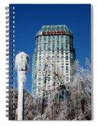 Casino Under Ice Spiral Notebook