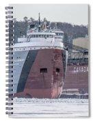 Cason Calloway Freighter Spiral Notebook