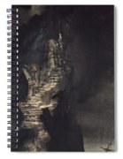 Casquets Lighthouse Spiral Notebook