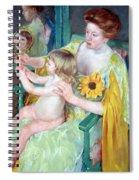 Cassatt's Mother And Child Spiral Notebook