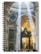 Cast Youyr Eyes To The Heavens Spiral Notebook