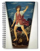 Castagno's David With The Head Of Goliath Spiral Notebook