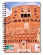 Castel Sant'angelo Spiral Notebook