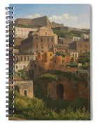 Castel Sant'elmo From Chiaia. Naples Spiral Notebook