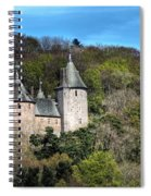 Castell Coch Cardiff Spiral Notebook