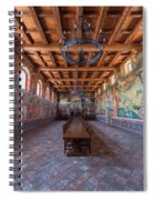 Ready For The Red Wine Wedding Castelle Di Amorosa Spiral Notebook