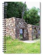 Castle Ruins Spiral Notebook