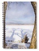 Casting Big Shadows Spiral Notebook