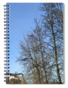 Castle And Trees Spiral Notebook