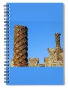 Castle Brickwork Spiral Notebook