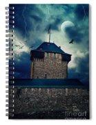 Castle Burg Spiral Notebook