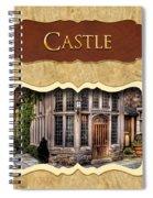 Castle Button Spiral Notebook