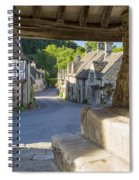 Castle Combe - View Spiral Notebook