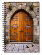 Castle Door Spiral Notebook
