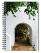 Castle Entrance Spiral Notebook