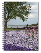 Castle Garden Schwerin - Germany Spiral Notebook