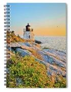 Castle Hill Lighthouse 1 Newport Spiral Notebook
