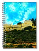 Castle In The Hot Summer Sun Spiral Notebook