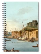 Castle In The Island Of Torosa Spiral Notebook