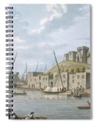 Castle In The Island Of Tortosa, 1805 Spiral Notebook