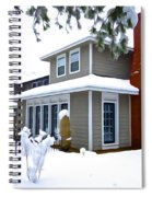 Castle In The Snow Spiral Notebook