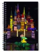 Castle Lantern Spiral Notebook