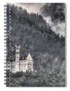 Castle Neuschwanstein  Spiral Notebook
