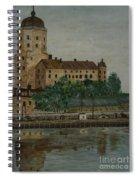 Castle Of Vyborg Spiral Notebook