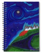 Castle On The Cliff By Jrr Spiral Notebook