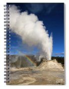 Castle Rainbow Spiral Notebook