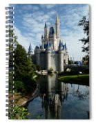 Castle Reflections Spiral Notebook