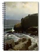 Castle Rock At Marblehead Spiral Notebook