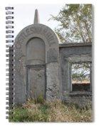 Castle Swan Hill Spiral Notebook