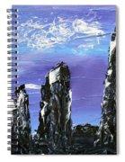 Castlenalact Standing Stones Spiral Notebook