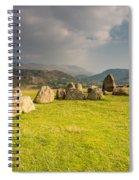 Castlerigg Circles Inner Chamber Spiral Notebook