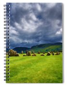Castlerigg Stone Circle Spiral Notebook
