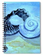 Castles In The Sand Spiral Notebook