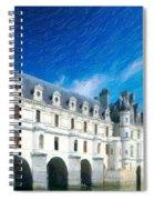 Castles Of France Spiral Notebook